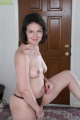 brunette mature milf