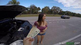brunette money