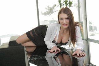 brunette russian mature anal