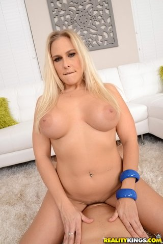 blonde mature doggystyle