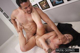 brutal feet fetish