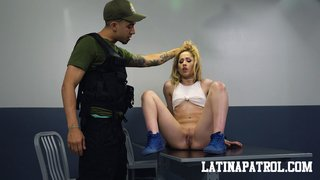 latina rough choking