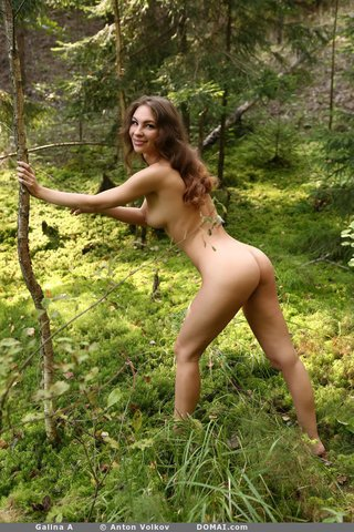 brunette russian model