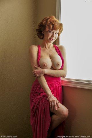 brunette redhead milf
