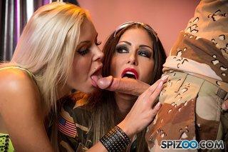 lesbian german threesome