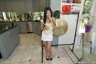 asian interracial blowjob
