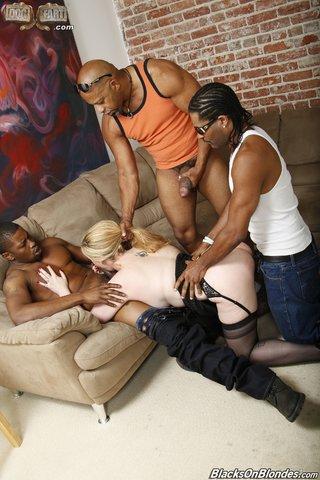 interracial foursome