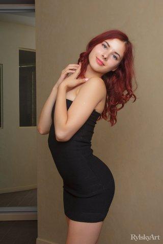 belarusian ass redhead