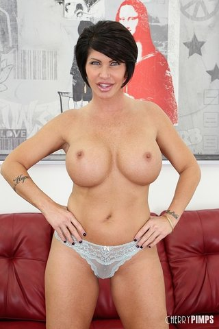 cherry brunette milf