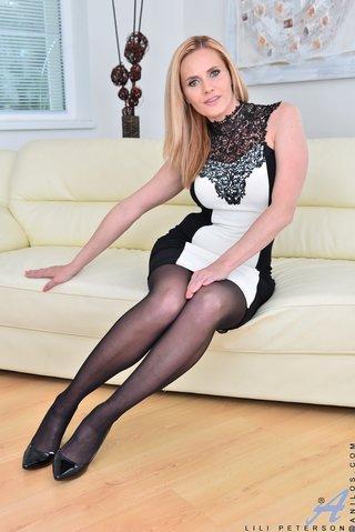 blonde czech stockings