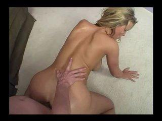 blonde slut fake tits