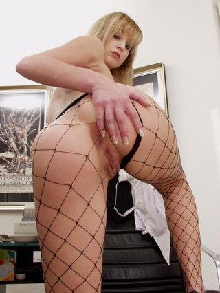 sweet blonde slut small