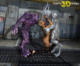 alien cartoon fuck
