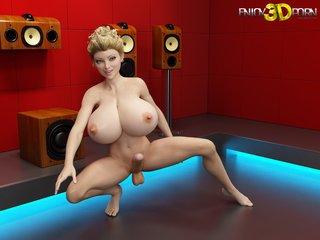 big boobs cartoon porn