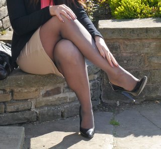 tall nylon feet