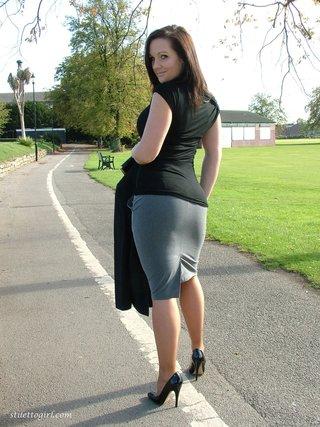 Regret, that Stiletto girls legs