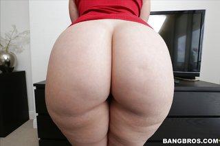 gorgeous pale brunette big