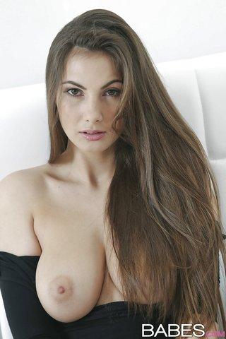 natural tits stocking