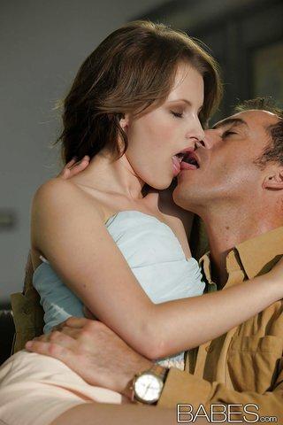 skinny sensual blowjob