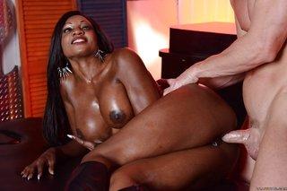 ebony anal cowgirl