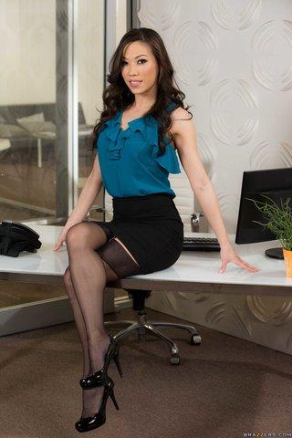 asian sexy secretary