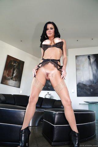 curvy anal stockings