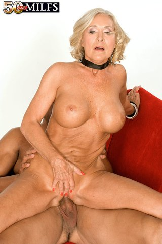 blonde mature latex anal