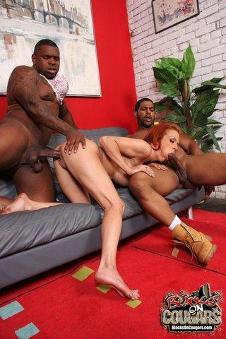 big tits interracial