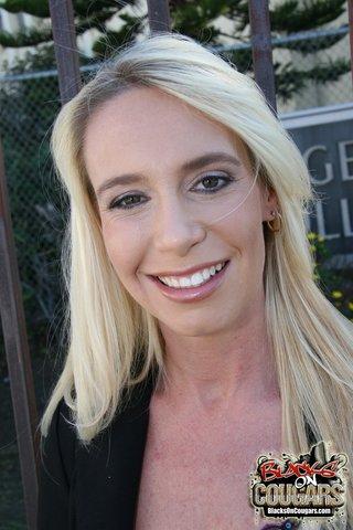 interracial blonde milf amateur