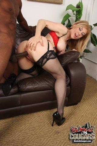 interracial black lingerie
