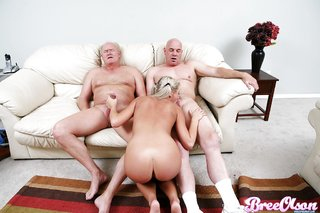 young blonde facial tits