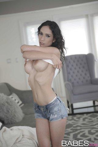 big boobs latina solo
