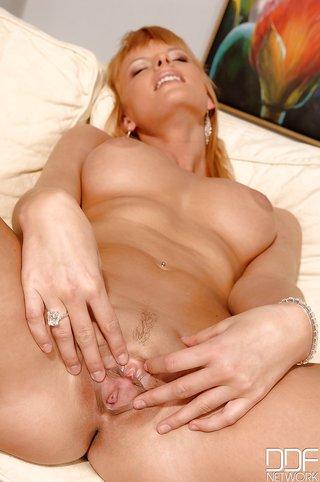 blonde breast milf