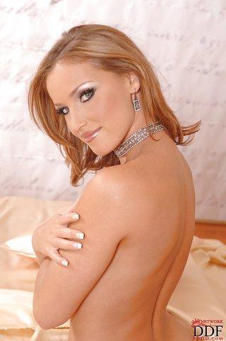 seductive sexy blonde
