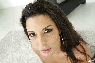 brunette latina milf pov