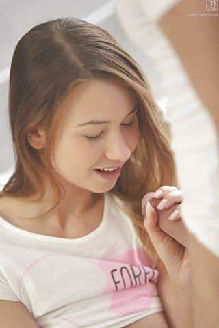 dutch gorgeous brunette teen