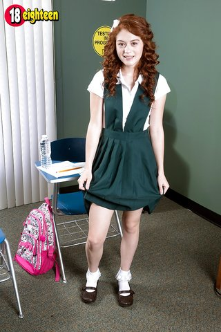 alice uniform masturbation