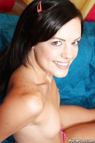 small tits naked babe