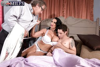 big tits anal lingerie