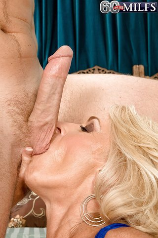 blonde cougar