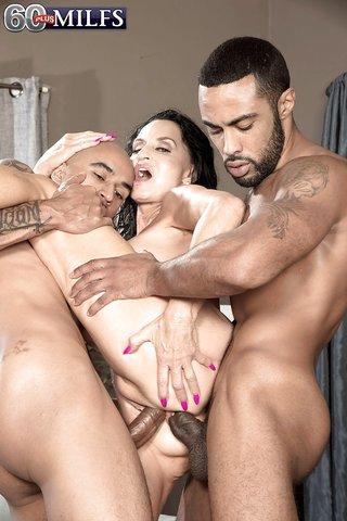 interracial saggy tits anal