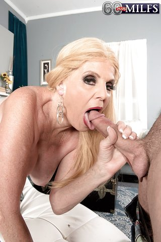 facial horny granny