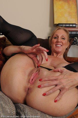 horny mature undressing