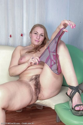 british chubby blonde