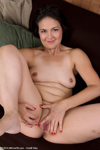 tiny tits mature woman