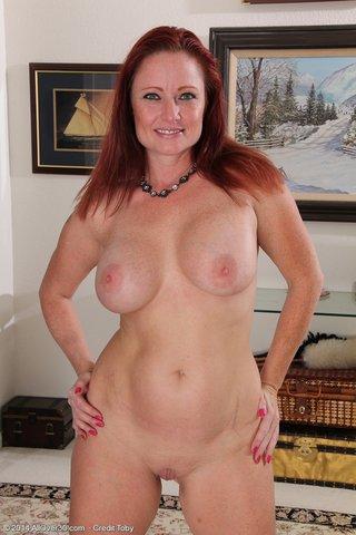 beautiful mature redhead