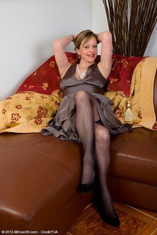 mature stockings high heels