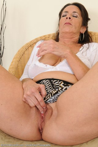 dark haired mature lady