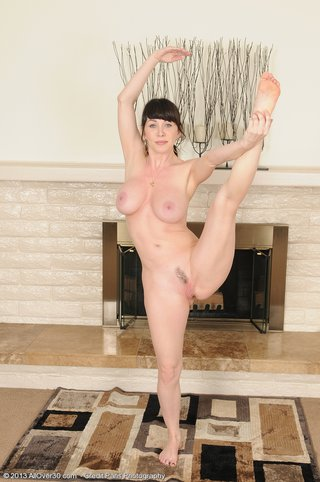 perky naked exercise