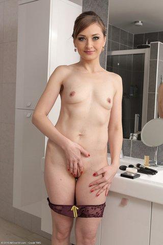 skinny bathroom